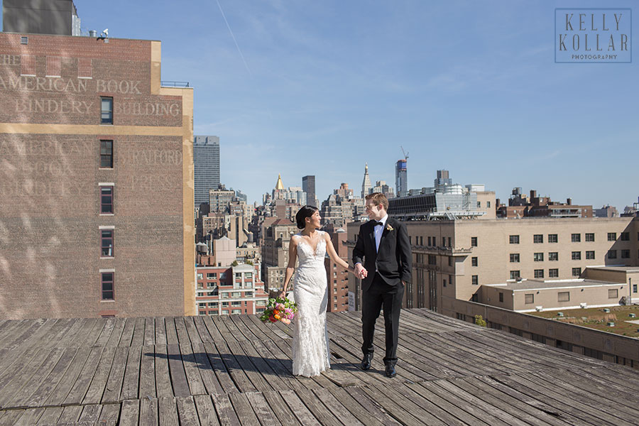 Wedding at Eventi Hotel and Studio 450 in Manhattan. Photos by Kelly Kollar Photography.