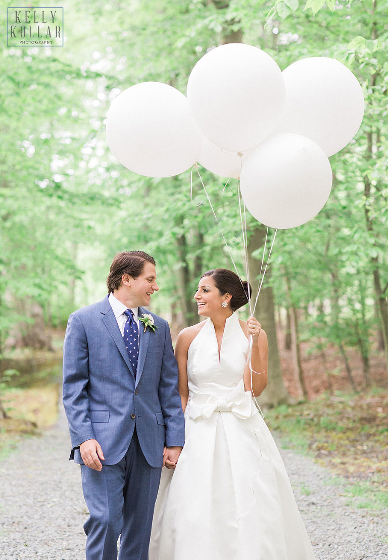 Wedding at Camp Riverbend in Warren, New Jersey. Photos by Kelly Kollar Photography.