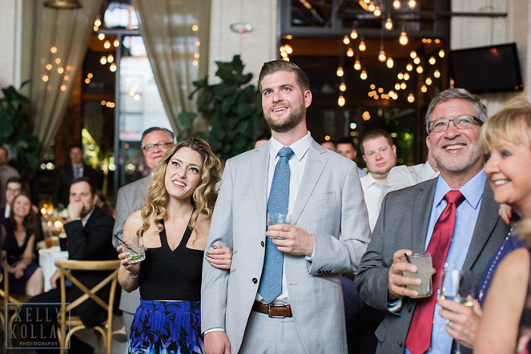 Wedding at Battello in Jersey City, New Jersey. By Kelly Kollar Photography.