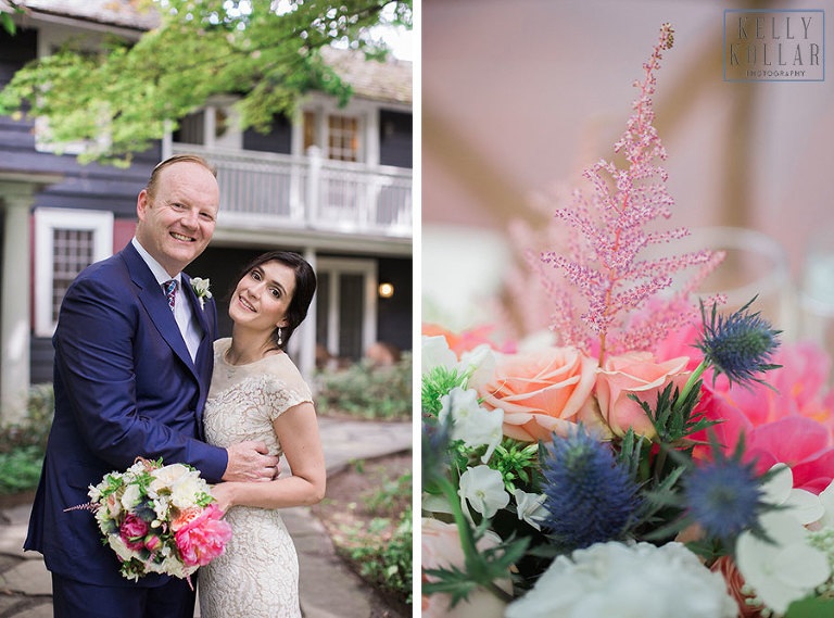Hudson Vally wedding at Buttermilk Falls Inn in Milton, New York. Photos by Kelly Kollar Photography.