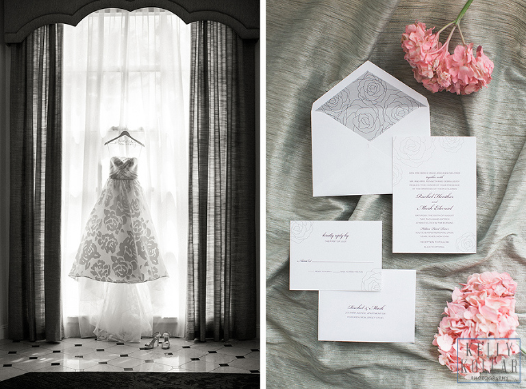 Jewish wedding at The Hilton Pearl River in New York. Photos by Kelly Kollar Photography.