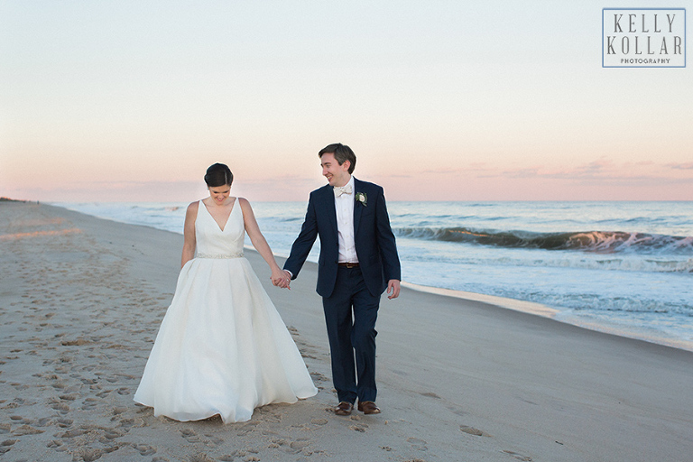 Beach wedding at St. Andrew RC Church in Sag Harbor and The Bridgehampton Tennis and Surf Club.