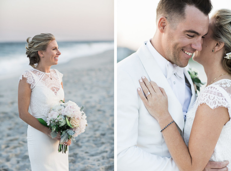 Wedding in Cape May, New Jersey. Photos by Kelly Kollar Photography.