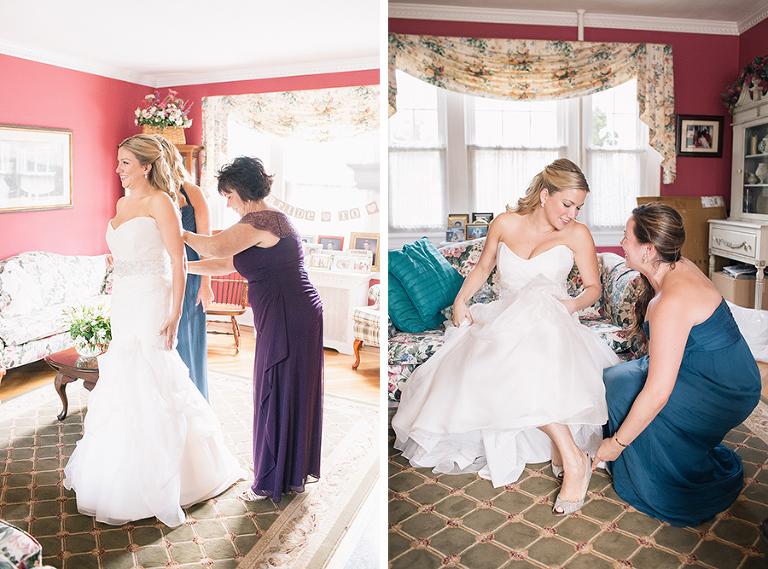 Summer Wedding At Royalton Lawrence Country Club In Long Island Catholic Beach